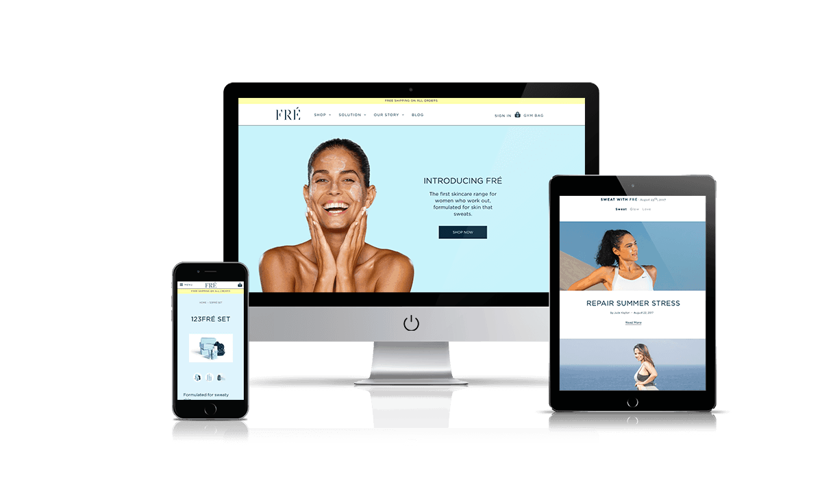 Shopify store by Q-Biz | eCommerce Agency