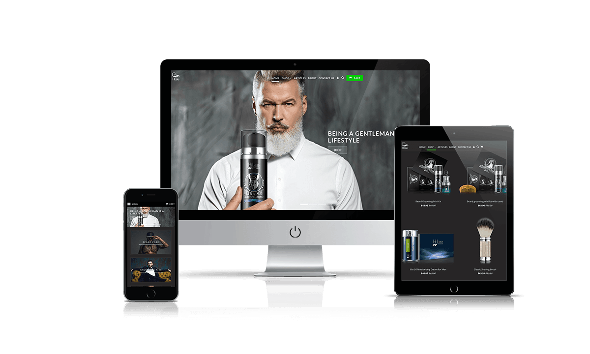 HiLee shopify store by Q-Biz | eCommerce Agency