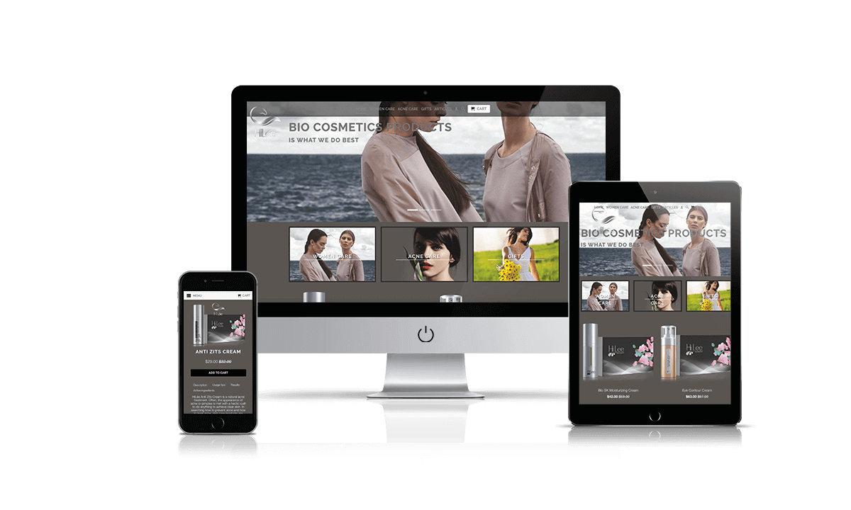 HiLee Women Shopify store by Q-Biz | eCommerce Agency